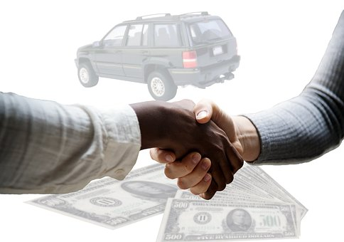 reselling vehicle