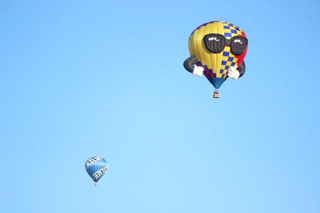 Balloons Lift Joy To Heart-Bursting Heights In Lieu Of Hot Air Race
