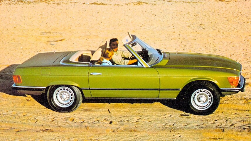 R107 To High Heavens: Mercedes-Benz And Their Golden Anniversary