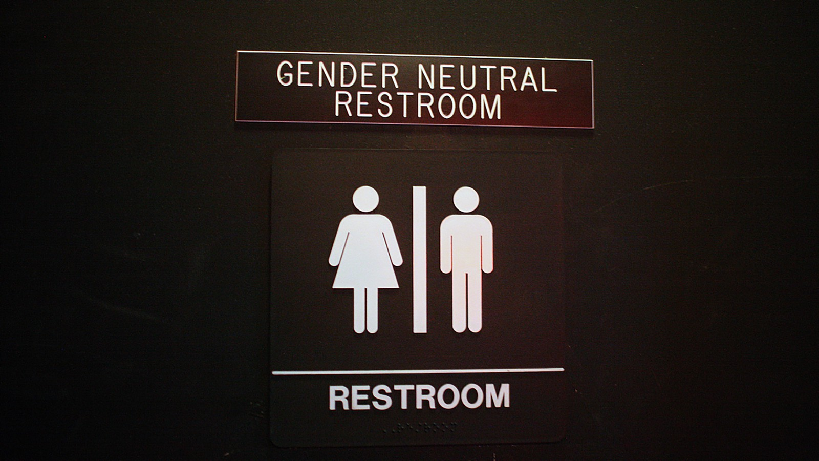 Bathrooms in Buildings will no Longer Have 'Male' or 'Female' Signage